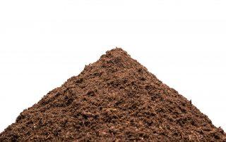 Heap of the soil